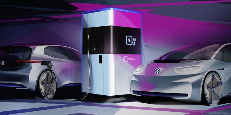 VW mobil töltőállomások